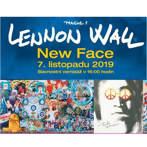 Nová tvář Lennonovy zdi a studenti školy Michael