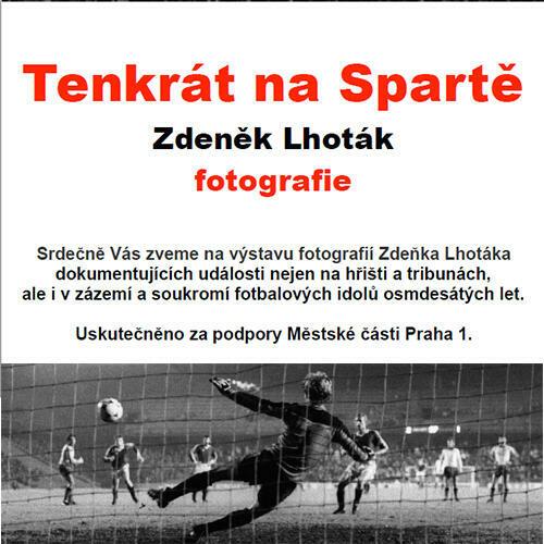 Pozvánka na výstavu pedagoga Zdeňka Lhotáka
