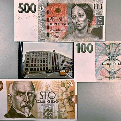 Návštěva vexpozici České národní banky