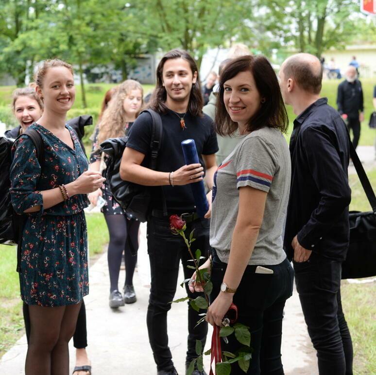 Zahradní slavnost pro absolventy