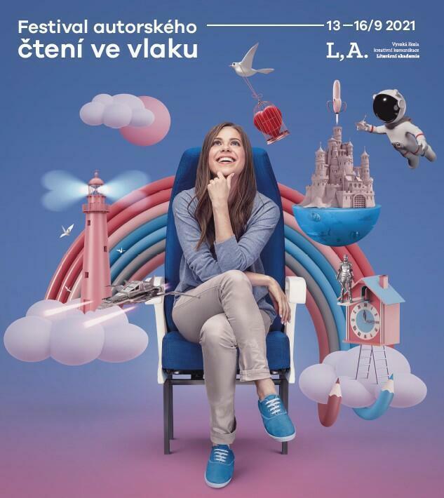 Festival autorského čtení ve vlaku už příští týden
